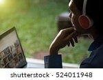 gaming technology ... | Shutterstock . vector #524011948