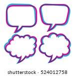 Set Of Speech Bubble Isolated...