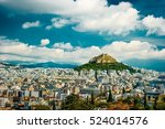 Cityscape Of Athens And...
