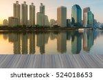 opening wooden floor  business... | Shutterstock . vector #524018653