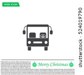 bus icon  vector illustration.... | Shutterstock .eps vector #524019790