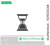 hour glass vector icon | Shutterstock .eps vector #524023168