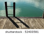 Ladder Made From Railway Iron...