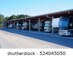 rv recreational vehicle storage ... | Shutterstock . vector #524045050
