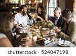 restaurant chilling out classy... | Shutterstock . vector #524047198