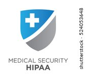 hipaa compliance icon graphic... | Shutterstock .eps vector #524053648