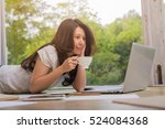 technology  education  business ... | Shutterstock . vector #524084368
