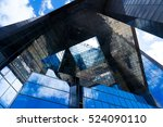 abstract business office... | Shutterstock . vector #524090110
