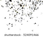 gold and white pyramid macro... | Shutterstock . vector #524091466