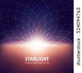 starlight  space background ... | Shutterstock .eps vector #524094763