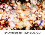 abstract blurred of blue and... | Shutterstock . vector #524100730