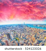 Sunset View New York Skyline - Fine Art prints