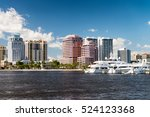 west palm beach  florida.... | Shutterstock . vector #524123368