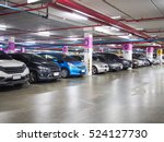 parking lot underground interior | Shutterstock . vector #524127730