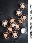 delicious fruit mince tarts for ... | Shutterstock . vector #524139799