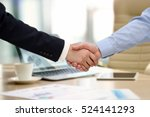 close up image of a firm... | Shutterstock . vector #524141293