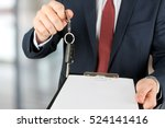 successful businessman offering ... | Shutterstock . vector #524141416