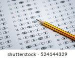 alarm clock  optical form of... | Shutterstock . vector #524144329