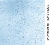 Water Drops On Glass  Rain Drop