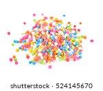 colorful sugar sprinkles on...   Shutterstock . vector #524145670