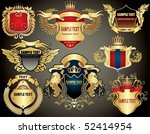 Collection Of The Gold Heraldry