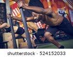 active people sport workout...   Shutterstock . vector #524152033