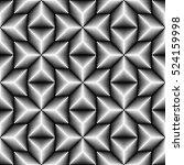 seamless 3d cross pattern.... | Shutterstock .eps vector #524159998