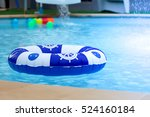 swimming pool  buoy. | Shutterstock . vector #524160184