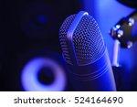 condenser microphone. condenser ... | Shutterstock . vector #524164690