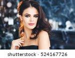 beautiful young woman | Shutterstock . vector #524167726