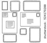 vector set of stamp | Shutterstock .eps vector #524170288
