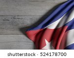 3d Rendering Of Cuba Flag...