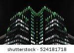 reworked photo of modern office ... | Shutterstock . vector #524181718