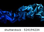 abstract 3d rendering of... | Shutterstock . vector #524194234