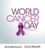 world cancer day concept.... | Shutterstock .eps vector #524198149