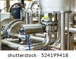 industrial equipment stainless... | Shutterstock . vector #524199418