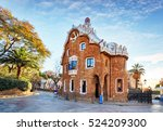 barcelona  park guell  spain  ...   Shutterstock . vector #524209300
