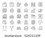 set of icons isolated for... | Shutterstock .eps vector #524211109