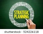 strategic planning word cloud... | Shutterstock . vector #524226118