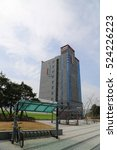 busan   5 apr  airport hotel... | Shutterstock . vector #524226223
