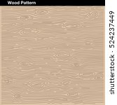 wood pattern beige texture bark | Shutterstock .eps vector #524237449