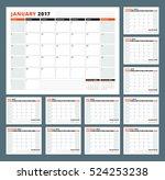Calendar Template For 2017 Yea...