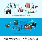 university learning horizontal...   Shutterstock .eps vector #524253463