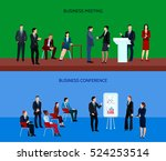 business people group... | Shutterstock .eps vector #524253514