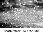 abstract white bokeh circles... | Shutterstock . vector #524254630