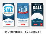 web set of vertical banners for ... | Shutterstock .eps vector #524255164