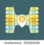 vector progress background  ...   Shutterstock .eps vector #524264140