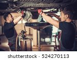 profecional car  mechanic... | Shutterstock . vector #524270113