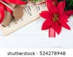 christmas ornament and music...