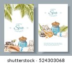 vector spa treatment... | Shutterstock .eps vector #524303068
